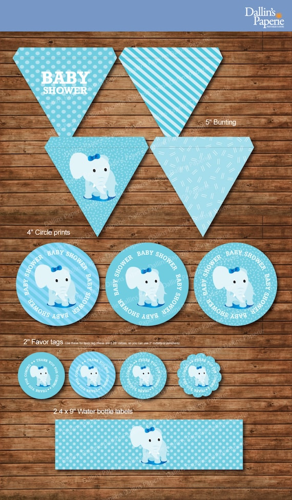 items similar to dumbo elephant baby shower party decoration pack