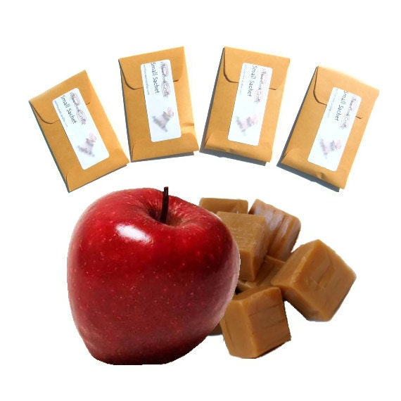 Halloween Party Favors Seed Packet Caramel Apple Scented Sachets Fall Wedding Guest Autumn Harvest Table Decorations Housewarming Favor Gift