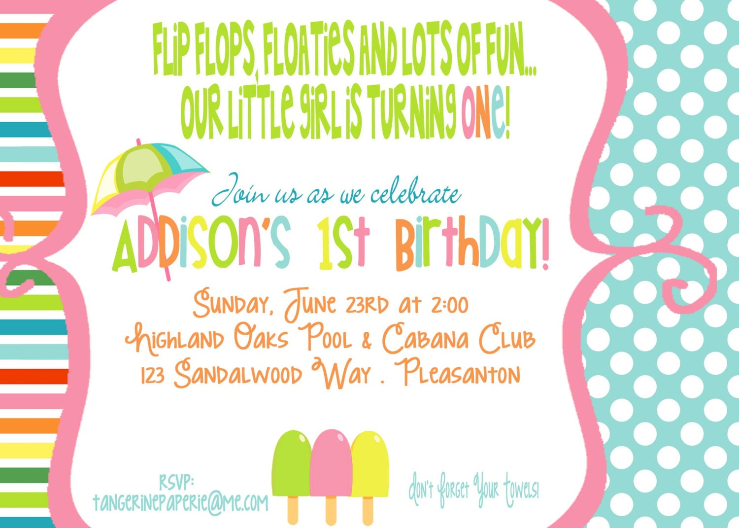 Displaying 16> Images For - Summer Invitation Templates...