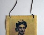 frida kahlo bees waxed fabric photo