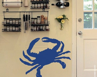 "Crab Wall Decal 27.5"" x 22"""