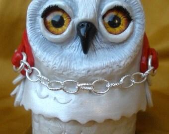 Polymer Clay Owl Princess Gift Box