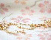 Gold Charm Bracelet - Mon Chéri Set