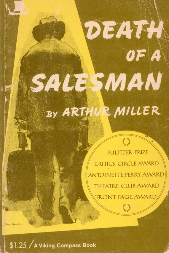 a description of the death of salesman by miller Free essay: arthur miller's death of a salesman is a modern tragedy in the fourth century bc, aristotle set forth his description of dramatic tragedy, and.