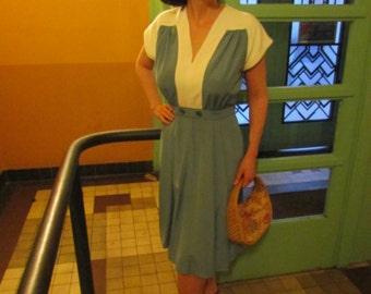 Anette 1940's vintage inspired custom made dress.