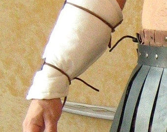 Medieval Gladiator Roman Armor Padded Forearm Protector