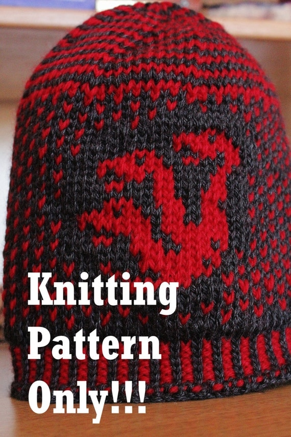 Knitting Pattern Dragon Hat : Items similar to Knitting Hat Pattern: Targaryen Game of ...