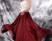 tulle skirt,tutu skirt,chiffon skirt,chiffon maxi  skirt,long skirt,pleated skirt,spring skirt