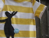 Curious Easter Bunny Kids T shirt Boys Easter