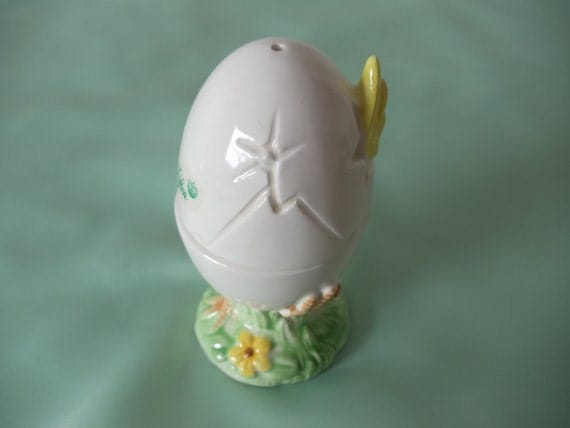 Lefton Hatching Egg Chick Salt and Pepper Shakers