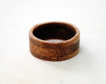 Wood Ring - Bamboo Ring - Wooden Ring
