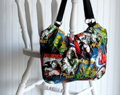 Hollywood Monsters - Hobo Bag - Rockabilly