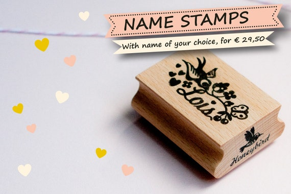 Personalized custom Name stamp - With a name of your choice