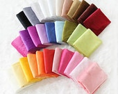 A Fat Quarter - 1 mm Smooth Cuddle Minky Fabric Choose from 31 Colors - 66453