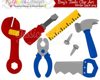 INSTANT DOWNLOAD, building tool clipart, fathers day clip art, for commercial use, personal use
