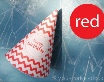 red party hat printable red birthday hat party printable first birthday hat party hats 1st birthday hat cake smash 1st bithday boy red party