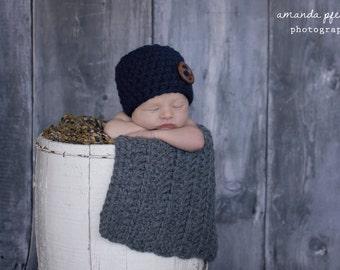 Baby Blanket Medium Gray Baby Blanket Newborn Baby Blanket Newborn Baby Girl Blanket Newborn Baby Boy Blanket Photo Prop Blanket Layering