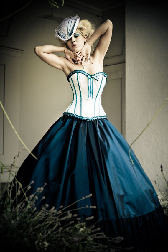 Items similar to alternative wedding dress steampunk for Victorian corset wedding dresses