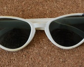 Reserved for Ashley- Vintage Foster Grant Cat Eye Sunglasses with original lenses, 1940's or 50's, Sexy Chic Style