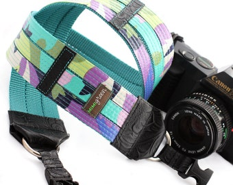 Willow Laminated Cotton Designer DSLR Camera Strap with Quick Release Buckles