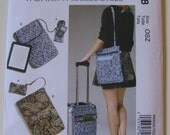 McCall's Fashion Accessories Sewing Pattern M6668 Cell Phone Computer Sleeve and Bags