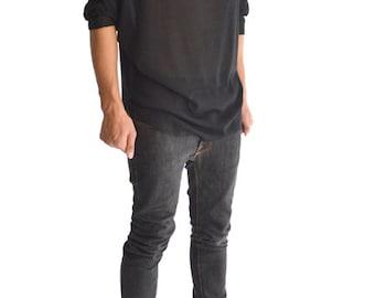 Ray Hoodie Sweater Black