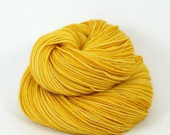 Orion - Hand Dyed Superwash Merino Wool Sport Yarn - Colorway: Midas