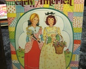 1975 Whitman Uncut Paper Dolls of Early America