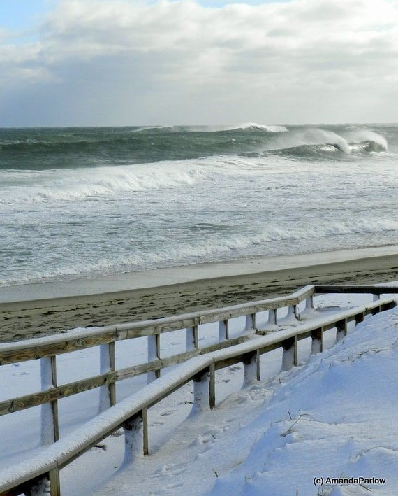 Items Similar To Nauset Beach On Cape Cod Winter Waves