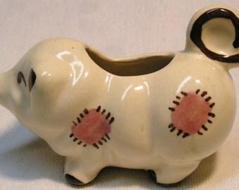 PIG CREAM PITCHER