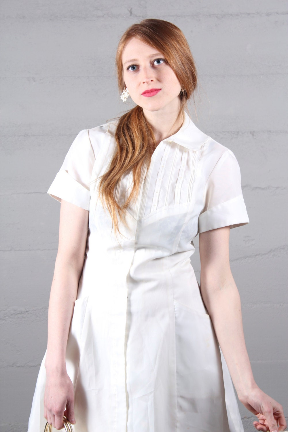 White Nurse Dress
