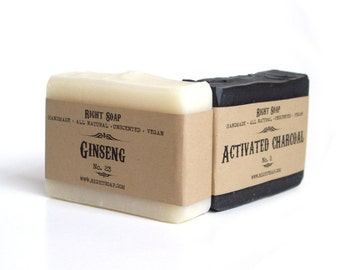 Soap Set for Men, Stocking Stuffer, Men Christmas Gift set, Boyfriend Gift, Husband Gift, Natural Soap, Vegan, Homemade Soap