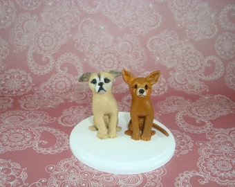 Personalized Dog Cake Topper