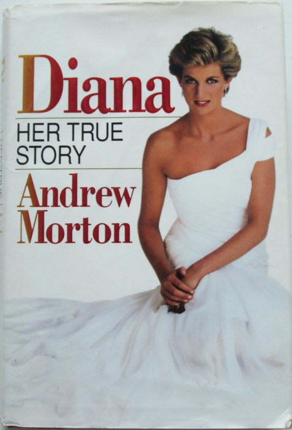 Princess Diana Her True Story Biography First Edition by Viking Woman Art