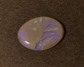 2.5 carats Interesting Purple Opal Picture Stone from Lightning Ridge