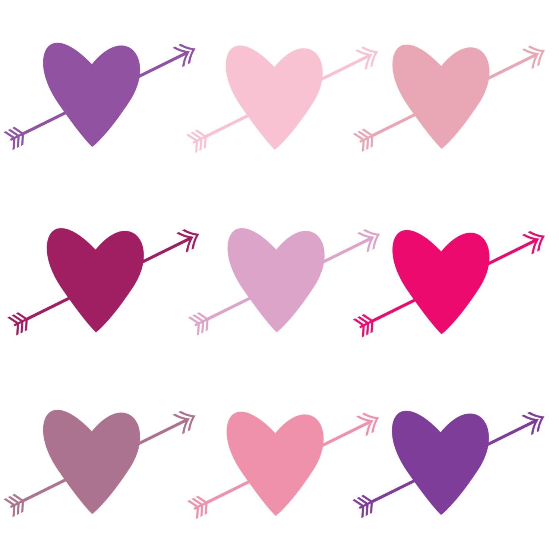 Purple Heart Clip Art Clip art for valentine's