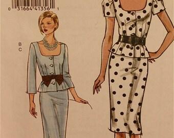 """Top & Skirt - 2000's - Vogue Pattern 8354  Uncut   Size 6-8-10-12   Bust 30.5-31.5-32.5-34"""""""