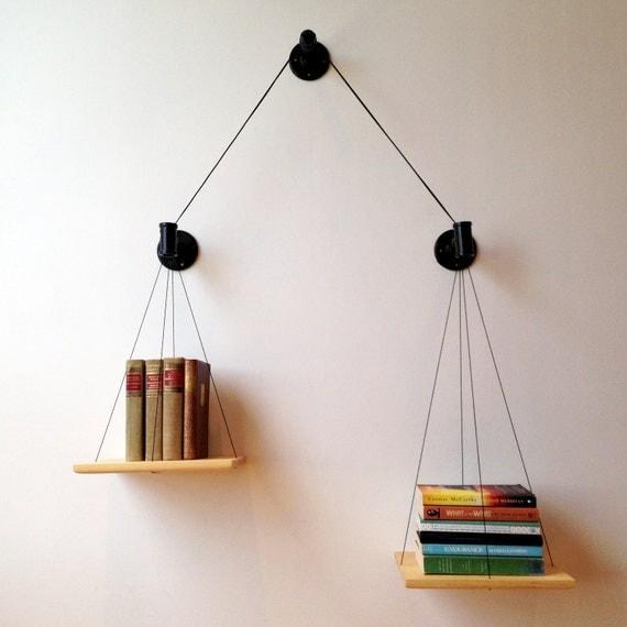 Black Balance Bookshelf
