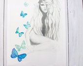 Halolani - A3 LIMITED EDITION Art PRINT - Island Beauty