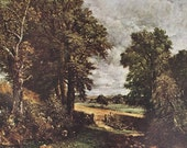 Constable - The Cornfield by Constable, Landscape Painting Masterpiece, 1939 Print, Famous Painting