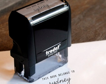 Self Inking Bookplate Stamp
