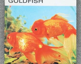 "Vintage ""Enjoy Your Goldfish"" Booklet Pet Library Enjoy Series"