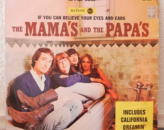 Mamas and the Papas Record - If You Can Believe Your Eyes and Ears - 1966