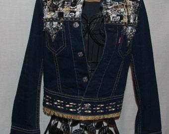 Embellished Levis Iconic Denim Jacket