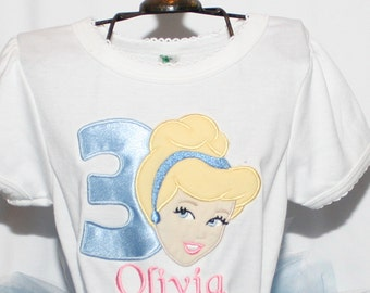 Cinderella Inspired Birthday Shirt