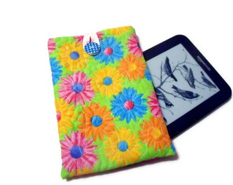 Kindle Pouch. Gadget Case for E Reader or Tablet . Handmade.