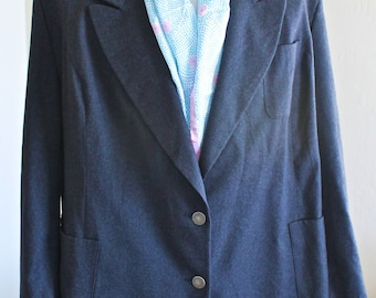 SALE 20% OFF: Vintage Gray Wool Jacket by Givenchy En Plus