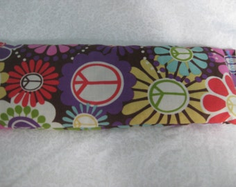 Flax Seed Rest Reiki and Relaxation HERBAL EYE PILLOW in Flower Power: Aglaea Blend