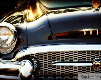 Vintage Buick - Rustic Wall Art - Car Art Prints -  Retro Print - Vintage Car Photography - Garage Art
