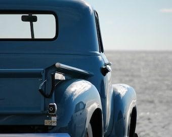 Vintage Chevy Truck - Rustic Wall Art - Classic Truck Art Prints - Retro Print - Vintage Truck Photography - Garage Art - 8x10